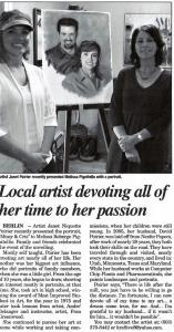 Local Artist Devoting All Of Her Time To Her Passion